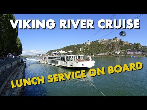 HOW GOOD IS VIKING RIVER CRUISE FOOD? - Viking Eir Lunch Buffet And Menu