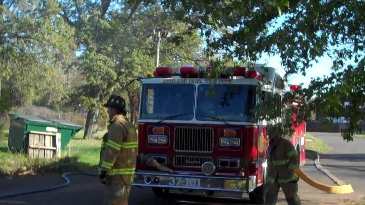 Highland Park (NJ) Fire Department Live Burn Training October 2013