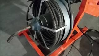 Chia Sẻ Cách Sử Dụng Máy Thông Ống Cống ( How To Use Drain Cleaning Machine ? ) Video # 87