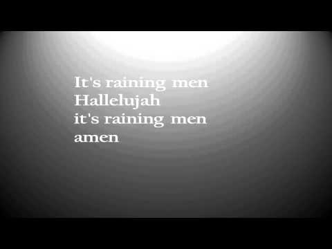 it's raining man  -Gloria Gaynor ( lyrics)