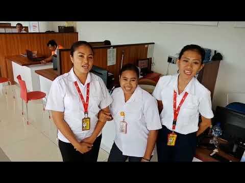 anti hoax Staf Trans Nusa Bandara El Tari Kupang.