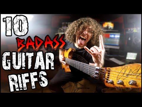 10 Badass Guitar Riffs!