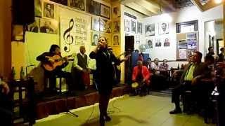"""Musica Criolla de Lima de Oscar Aviles """"Bendito Amor"""" canta Marlene Guillen"""