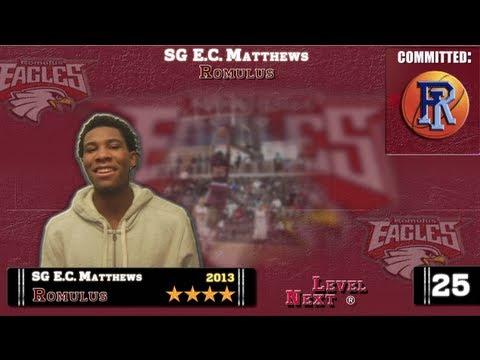 ESPN Top 100 (#88) SG E.C. Matthews-Romulus