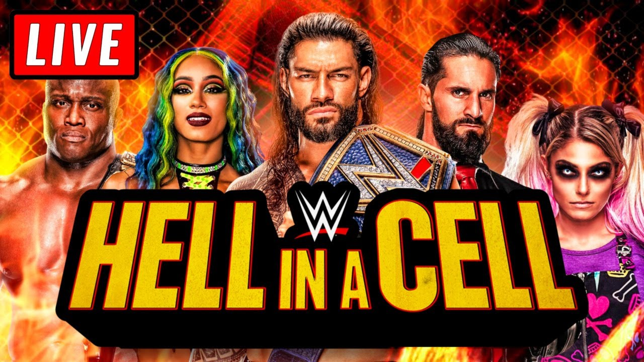 WWE Hell in a Cell 2021: Full Match Card, Start Time, Live Stream