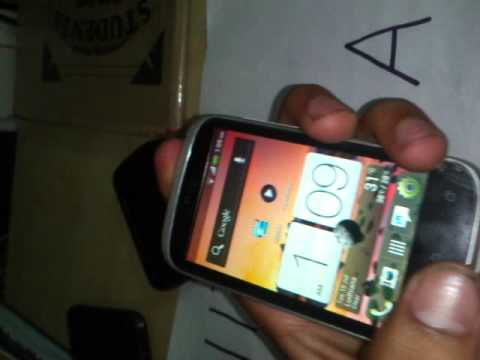 how to take snapshot on htc desire c