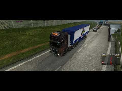 Euro Truck Simulator 2 - Lo-Fi Hip Hop De Lublin A Ostrava Com Scania R730
