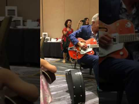 Tommy Emmanuel and daughter duet at 2017 CAAS