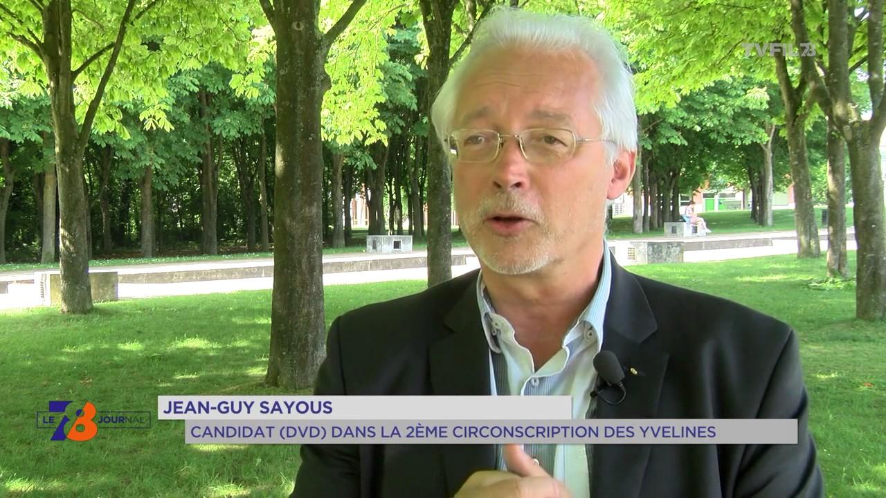 """2e circonscription : la """"démocratie"""" citoyenne de Jean-Guy Sayous"""