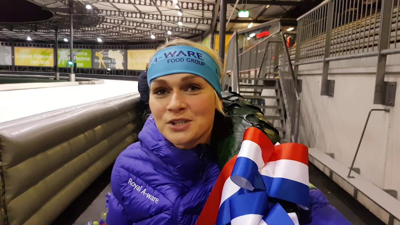 Download Irene schouten opnieuw de sterkste op het NK Marathonschaatsen.