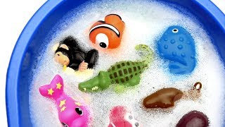 Animals ZOO Toys Baby and Mom - Learn Animals Names and Educational Toys for Kids