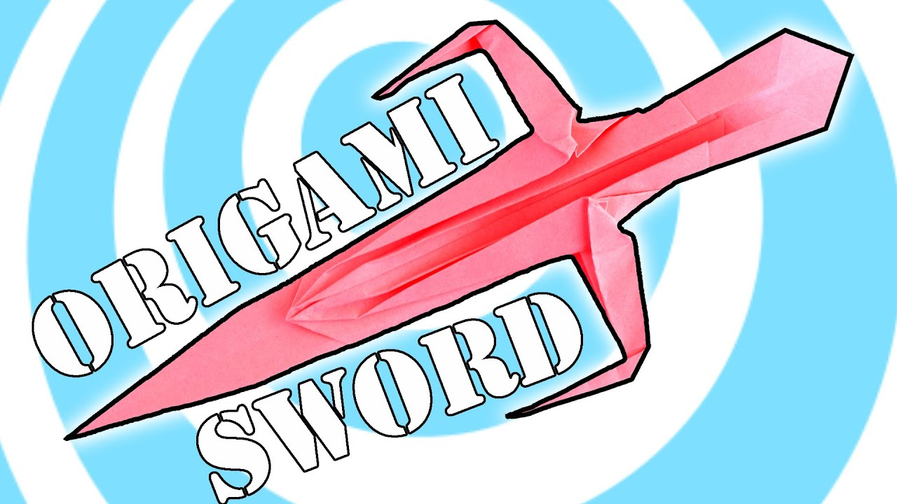 DIY Origami Ninja Sword Instructions