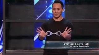 AGT 2017 -  Demian Aditya Amazing Magic Performance