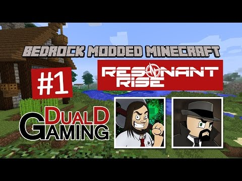 Minecraft Bedrock  Resonant Rise  #1  Flamsar i Spawn