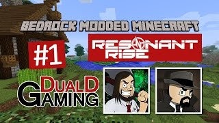 Minecraft Bedrock - Resonant Rise - #1 - Flamsar i Spawn