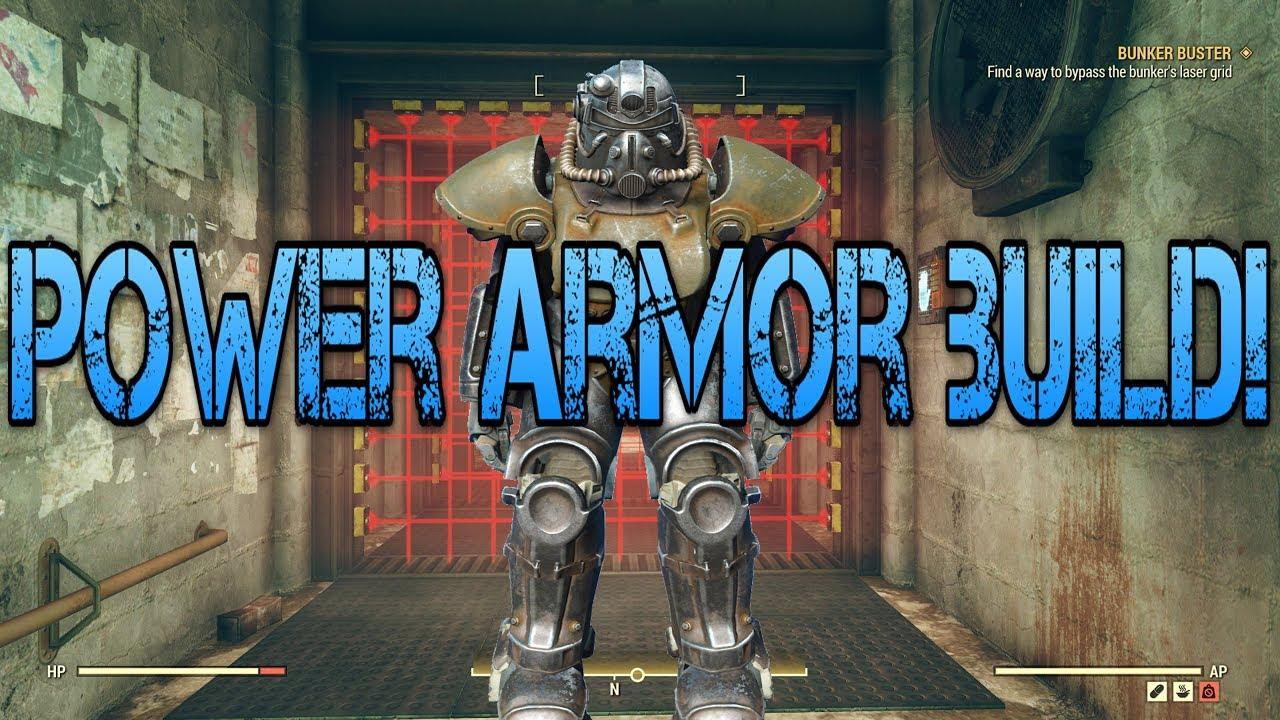 OP Power Armor BUILD || Cheap Counter to Assassins Sentinel || Fallout 76