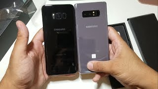 Samsung Galaxy Note 8 Orchid Gray Unboxing!