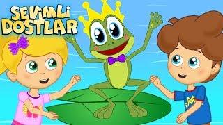 Küçük Kurbağa ve Sevimli Dostlar ile 75Dk Çizgi Film Çocuk Şarkıları | Kids Songs and Nursery Rhymes