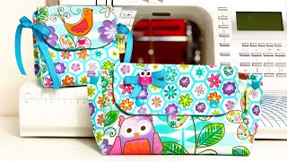 DIY Necessaire Trapézio – Moldes – DIY 2 Cute Purse