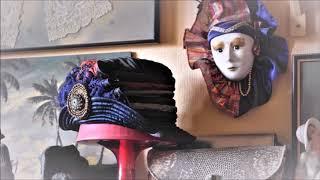 Необычный интерьер моей квартиры. Долой стандарты! Мои шляпки. Декупаж и винтаж в одном флаконе..