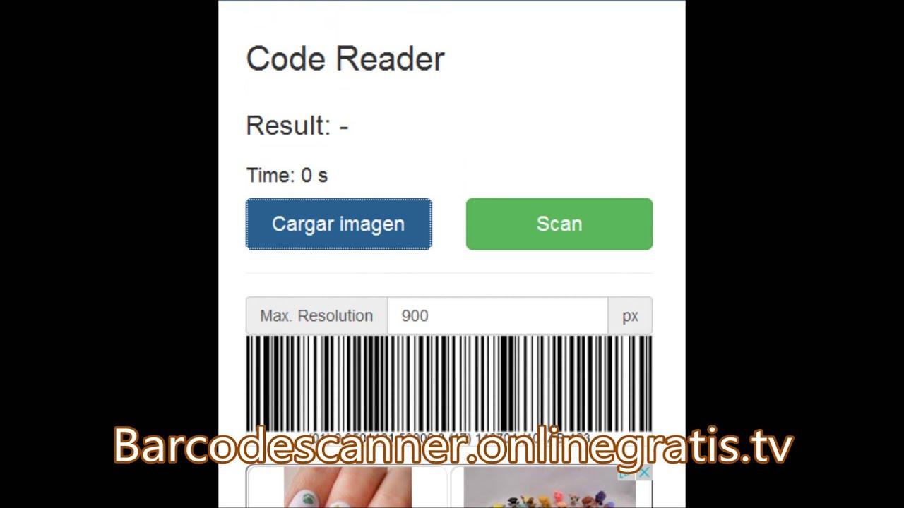 leer codigo de barras online