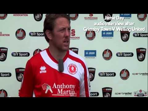WingsTV Jamie Day Freeview after Grimsby Town V Welling United