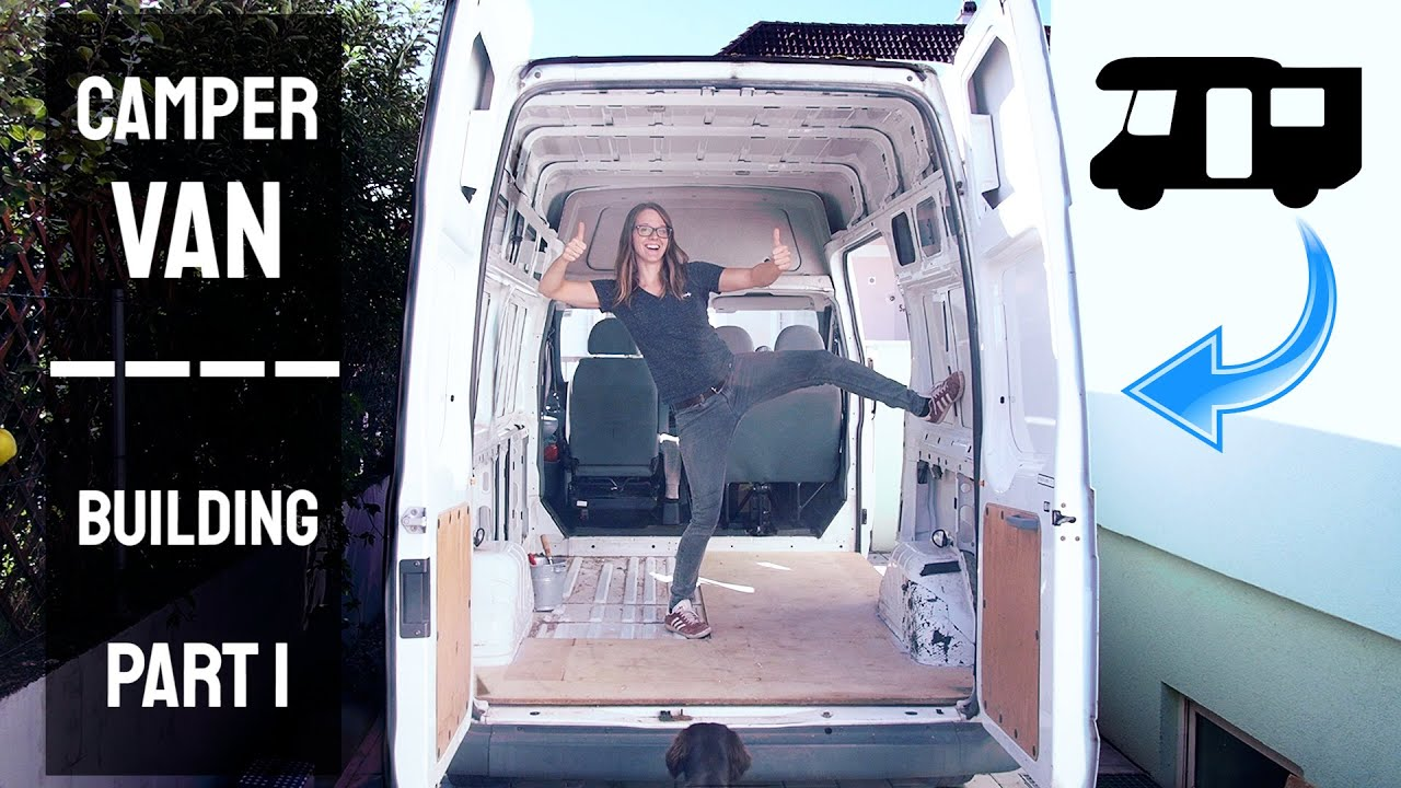 Camper Van Ford Transit (Building Part 1)