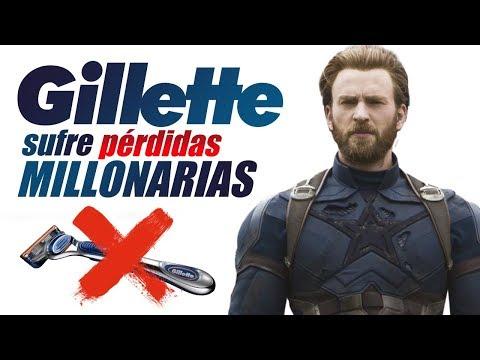 Gillette pierde más de 5000 millones de dólares tras el anuncio de la masculinidad toxica.