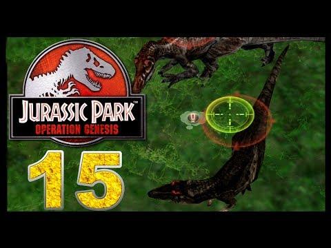 Jurassic Park: Operation Genesis - Episode 15 - Save the president!