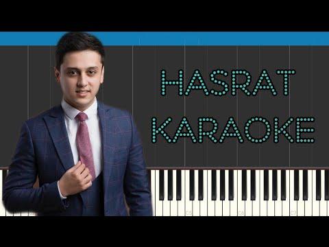 Sardor Tairov - Hasrat | Karaoke | Piano cover | O'rganish