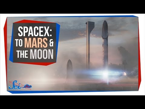 Mars Cities and Moon Bases: SpaceX