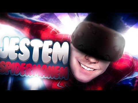 SPIDERMAN VR | Zmienilłem się w Spidermana!  (HTC Vive Virtual Reality)