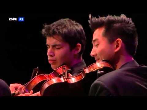 Ravel quartet - Quatuor Arod - Carl Nielsen Competition live recording