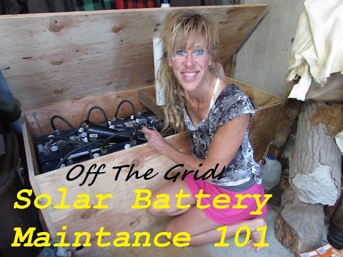 Solar Battery Maintenance: Easy Care Of Lead Acid Batteries!