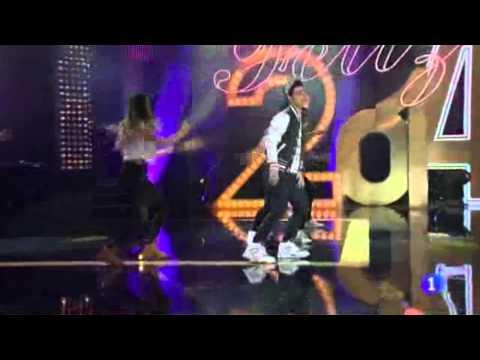 Abraham Mateo - Especial Fin de Año de TVE (1/12/2014)