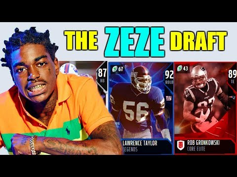 THE ZEZE DRAFT! PLAYERS FROM THE TEAMS CLOSEST TO AFRICA! Madden 19 Draft Champions
