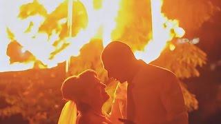 Огненное шоу  на свадьбе Анатолия и Люмилы, Лубны