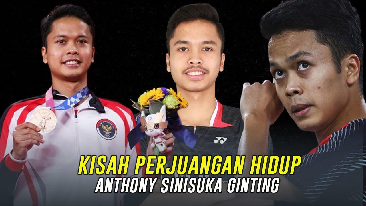Kisah Hidup dan Perjalan Karier Anthony Sinisuka Ginting, Peraih Medali Perunggu Olimpiade Tokyo