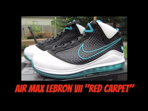Nike Air Max Lebron Vii Alfombra Roja Nfw Review 2 + En Pies Parte 2 Review dfc906