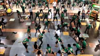 St. Anne College of the Pacific - Flash Mob at SM City Lucena