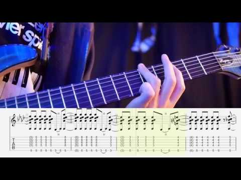 Phantom Razor (Playthrough) / Daisuke Kurosawa (with Guitar Tab) - Cytus II Mayones Regius Core 6