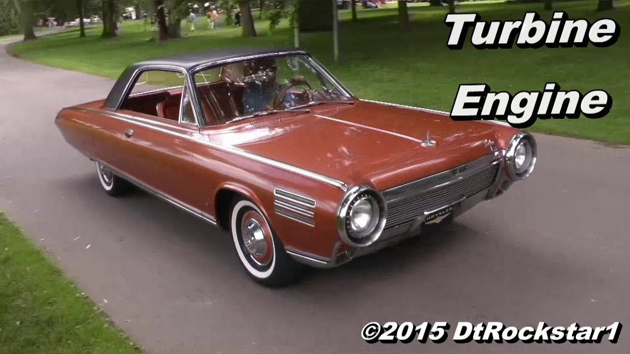 Chrysler Turbine Car: Chrysler Turbine Concept: Hear The Turbine Engine!