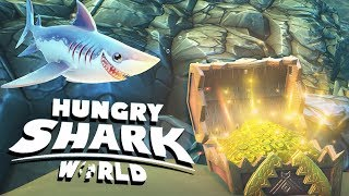 Threshing With The Thresher! - Hungry Shark World PS4 Gameplay