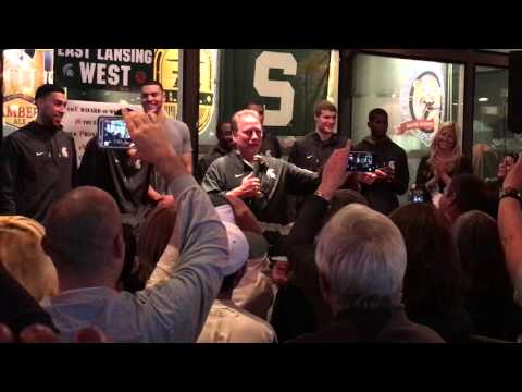 Tom Izzo Part 3 Inspirational Speech MSU Men's NCAA Basketball Team Spartans