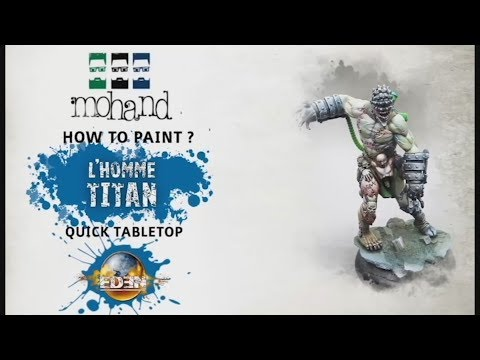 How To Paint :  The titan - EDEN the game ( Happy Games Factory )