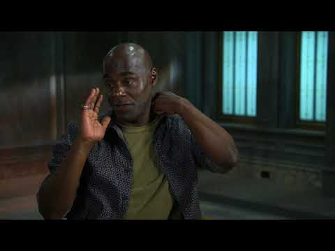 Timeless - Season 2 Premiere || Paterson Joseph Soundbites || SocialNews.XYZ