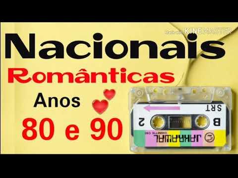 Coletânea nacionais românticas anos 80 e 90