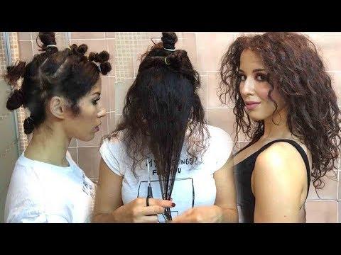 Come taglio i capelli ricci a casa