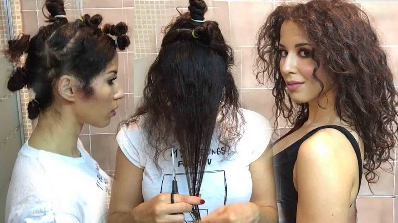 Come fare i capelli ricci in casa in semplici passaggi