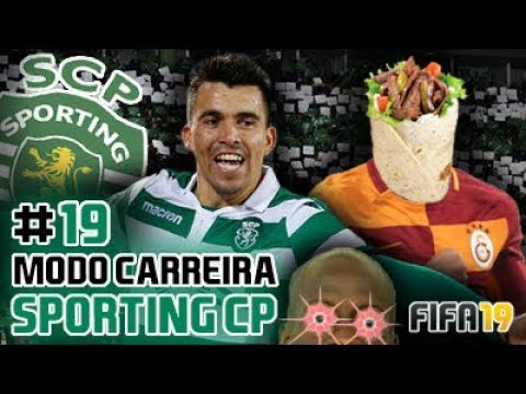 O JANTAR É KEBAB!!! 💚⚪ Modo Carreira #19 Sporting CP [FIFA19]